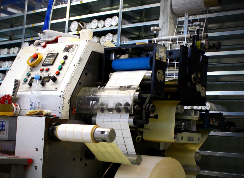 maszyny poligraficzne w drukarni RSC