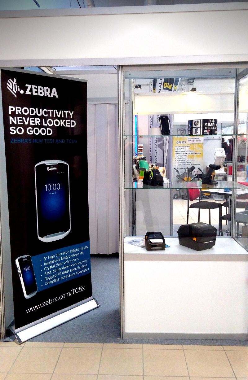 Prezentacja urządzeń firmy Zebra Technologies