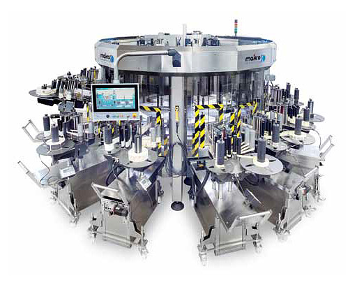 MAK 7 Self-adhesive labeller for high production speeds